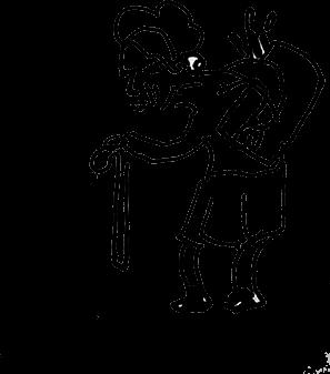dessin femme âgée