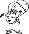dessin Marie-Antoinette