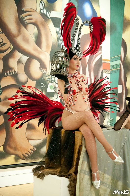danseuse de cabaret