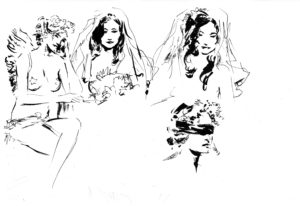 Love For Sale, dessin de JJ Dzialowski
