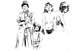 Steampunk, dessin de JJ Dzialowski