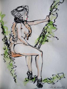 2016-02-26 Dr Sketchy – Vénus à la fourrure (9).JPG