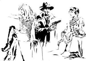 Canal Plus Cinema, dessin de JJ Dzialowski