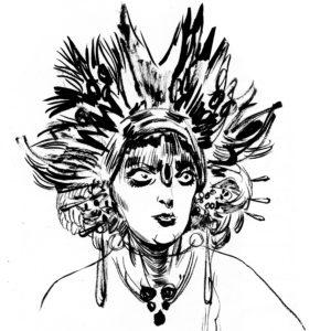 Divas et Furies, dessin de Edgar Drangiag