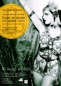 Flyer – Soirée «Salomé» d'Oscar Wilde