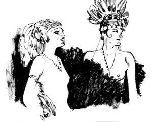 Paris Follies, dessin de Edgar Drangiag