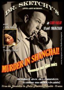 Murder in Shanghai – flyer