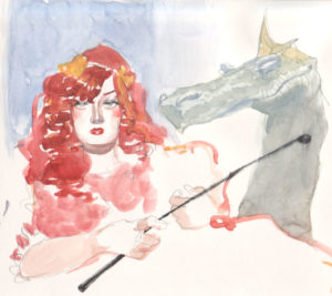 Contes de Fée pour Adultes, dessin de Arthur des Pins
