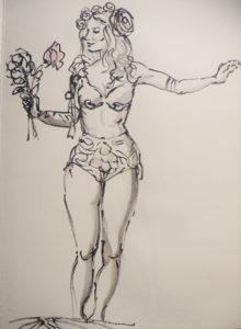 2016-04-01 Dr Sketchy – Musée Chasse et Nature – Nature fantastique (1).JPG