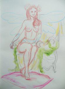2016-04-01 Dr Sketchy – Musée Chasse et Nature – Nature fantastique (12).JPG
