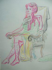 2016-04-01 Dr Sketchy – Musée Chasse et Nature – Nature fantastique (4).JPG